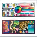 Beginner skills scarf 90 x90 cm