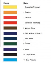 Alter Ego colour chart at Silksational