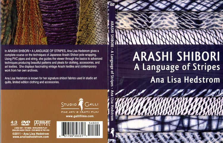DVD- Arashi Shibori - A Language of Stripes - Silksational