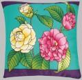 Lola camellia cushion cover
