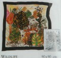 Wildlife scarf 90 cm x 90 cm