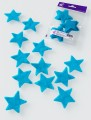 Prefelt cut shapes Stars Turquoise