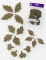 Prefelt cut shapes Leaves Khaki