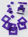 Prefelt cut shapes Squares Violet