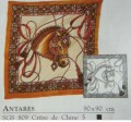 Antares scarf 90 cm x 90 cm
