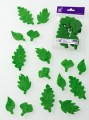 bright green leaf prefelt shapes