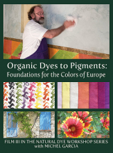 Michel Garcia Organic Dyes to Pigments DVD at Silksational