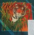 Tiger scarf 90 cm x 90 cm