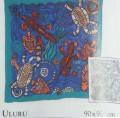 Uluru scarf 90 cm x 90 cm
