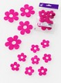 Prefelt cut shapes Flowers Fuchsia
