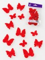 Prefelt cut shapes Butterflies Tomato