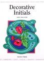 Design guide- Decorative Initials