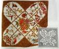 Magna scarf 110 x 110cm Twill 8mm