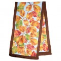 Autumn Leaves scarf 40 x 150cm Hab 8mm