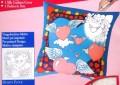Hearts cushion cover 40 cm x 40 cm