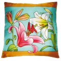 Lily cushion cover 40x 40 cm