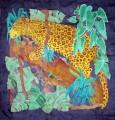 Leopard Scarf 90 cm x 90 cm