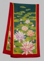 Water lily pond scarf 40 x 150 cm Hab 8mm
