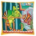 Nemo and Leon cushion cover