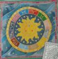 Astrology cushion cover 40 cm x 40 cm