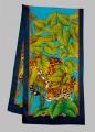 Leopard scarf 40 x 150 cm Hab 8mm