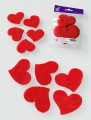 Prefelt cut shapes In Love Red