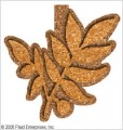 Cork Stamp Leaf large