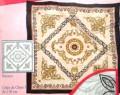 Barocco scarf 90x90 cm crepe de chine 5mm