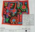 City scarf 90 cm x 90 cm