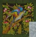 Parrot scarf 90 cm x 90 cm