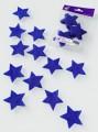 Prefelt cut shapes Stars Royal Blue
